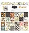 Jen Hadfield Simple Life Pack of 48 12\u0027\u0027x12\u0027\u0027 Paper Pad