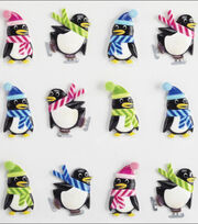 Jolee's Cabochons-Holiday Penguins, , hi-res
