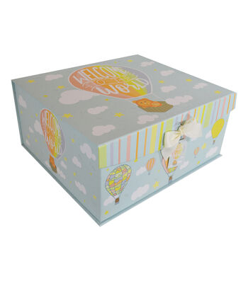 Organizing Essentials X-Large Fliptop Storage Box-Twinkle Twinkle