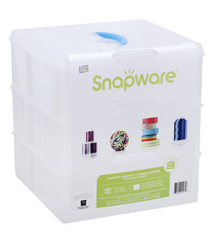 Snapware Snap 'N Stack 3-Layer Container