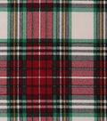 Christmas Cotton Fabric 43\u0022-Large Lodge Plaid