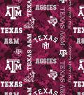 Texas A&M University Aggies Fleece Fabric 60\u0022-Digital Camo