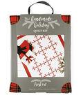 It\u0027s Sew Simple Handmade Holiday Fresh Cut Quilt Kit