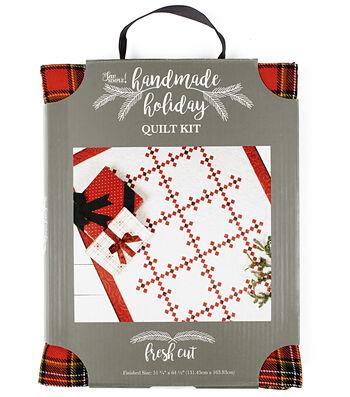 It's Sew Simple Handmade Holiday Christmas Fresh Cut Quilt Kit