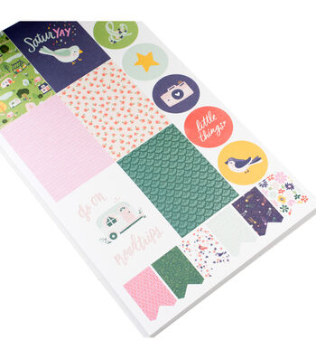 Dear Lizzy Sticker Book-Variety