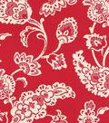 Williamsburg Upholstery Fabric 55\u0022-Pelham Pomegranate/Jewel