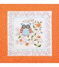 Owl Quilt Blocks Stamped Cross Stitch-15\u0022X15\u0022 6/Pkg