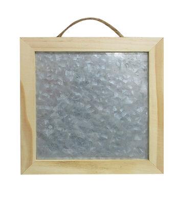 Unfinished 8X8 Framed Metal/Wood
