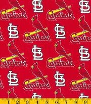 St. Louis Cardinals Cotton Fabric -Tossed Print, , hi-res