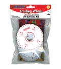 Pepperell Rexlace Braiding Wheels With Book