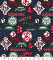 Boston Red Sox Cotton Fabric-Stadium, , hi-res