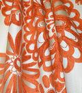 Home Decor 8\u0022x8\u0022 Fabric Swatch-Genevieve Gorder Flower Pops Tigerlily
