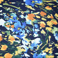 Fast Fashion Bubble Crepe Knit Fabric-Navy Iris
