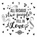 York Wallcoverings Wall Decals-Two People Fell in Love