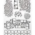 Elizabeth Craft Clear Stamps-Patterns 2