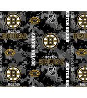 Boston Bruins Fleece Fabric-Digital Camo, , hi-res
