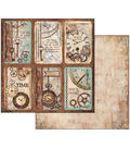 Stamperia 10 pk 12\u0027\u0027x12\u0027\u0027 Double-Sided Cardstock-Clockwise with Cards