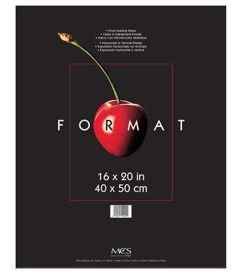 Format Frame 16x20-Black