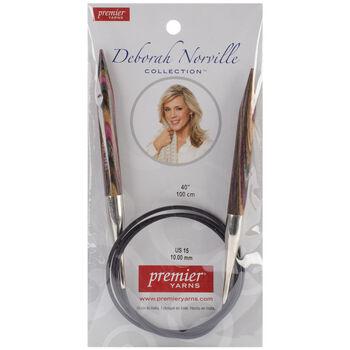 "Premier Yarns Fixed Circular Needles 40"" Size 15/10.0mm"