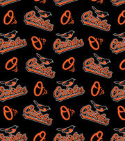 Baltimore Orioles Fleece Fabric 58''-Tossed, , hi-res