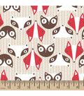 Snuggle Flannel Fabric -Racoon Tan