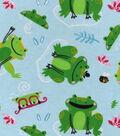 3 Yard Pre-Cut Snuggle Fabric 42\u0022-Frisky Frog