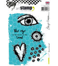 Carabelle Studio Birgit Koopsen 5 pk A6 Cling Stamps-Mirror of the Soul