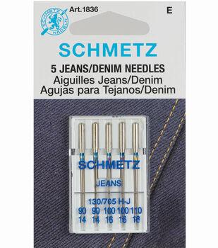Schmetz Denim Needles Assorted 5pcs