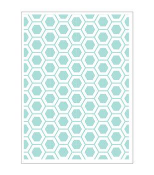 Park Lane A2 Embossing Folder-Honeycomb