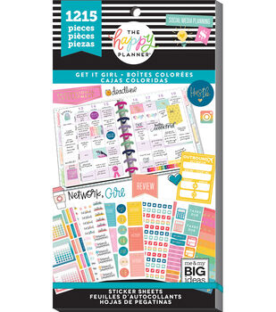 The Happy Planner Sticker Value Pack-Get It Girl