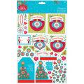 Papermania Folk Christmas A4 Decoupage Pack-Season\u0027s Greetings