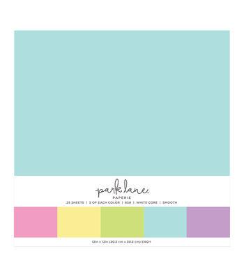 Park Lane 25 pk 12''x12'' Value Papers-Soft