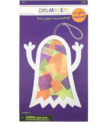 Little Maker's Tissue Paper Ornament Kit-Ghost