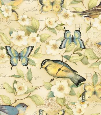 "Susan Winget Premium Cotton Fabric 44""-Morning Song Bird"