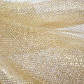 The Witching Hour Halloween Fabric 59\u0022-Gold Foil Mesh