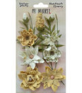 49 And Market Vintage Shades Cluster 13 pk Flowers-Yellow