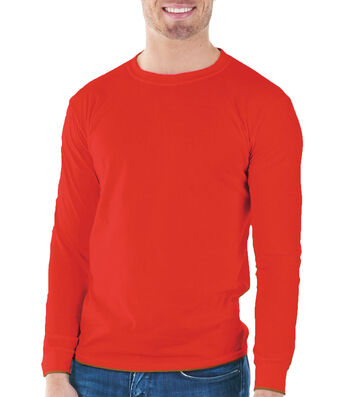 Gildan Adult Long Sleeve Tee Large