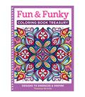 Design Originals Fun & Funky Coloring Book Treasury