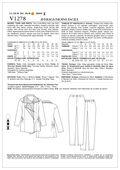 Mccall Pattern V1278 Aa (6-8-10-Vogue Pattern