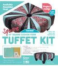 Square Tuffet Kit 18\u0022 Square