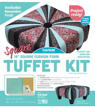 Fairfield 18'' Square Cushion Foam Tuffet Kit