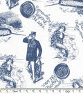 Novelty Cotton Fabric 43\u0022-Beyond The Sea
