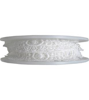 Simplicity Trims-Scallop Venice White