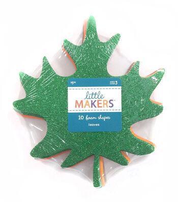 Little Maker's 10 Foam Shapes-Maple Leaf