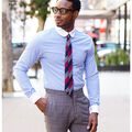 Simplicity Pattern 8427 Men\u0027s Fitted Shirt-Size BB (44-46-48-50-52)