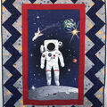 Quilt Kit-NASA Spaceman  by Riley Blake
