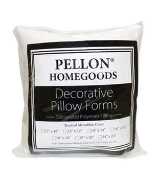"Pellon Decorative 18"" x 18"" Microfiber Pillow Form"
