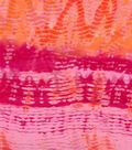 Silky Prints Yoryu Fabric 58\u0027\u0027-Pink Tie Dye