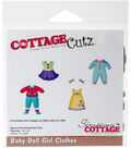 Cottagecutz Die-Baby Doll Girl Clothes .9\u0022 To 2\u0022