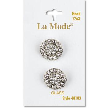La Mode Crystal Rhinestone 3/4In